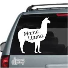 Mama Llama Car Decals Window Stickers Decal Junky