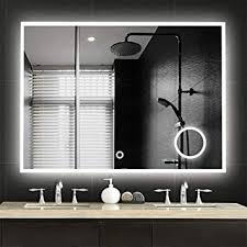 large led mirrors wall mounted bathroom