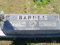 Ida Isabella Flowers Barnes (1895-1985) - Find A Grave Memorial