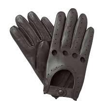 mens driving gloves black leather uk