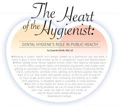 The Heart of the Hygienist: Dental Hygiene's Role in Public Health ...