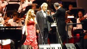 Andrea Bocelli Live @ The Hollywood Bowl 2013 - YouTube