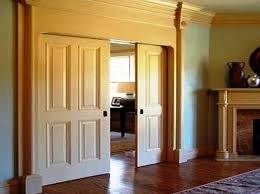 pocket doors interior stagger and