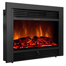 giantex 28 5 electric fireplace insert