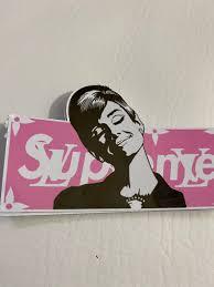 Audrey Hepburn Pink Sticker Vinyl Decal Supreme Holly Golightly Waterproof Stickers Macbook Pro D In 2020 Custom Vinyl Stickers Vinyl Decals Waterproof Stickers