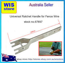 Strainer Tensioner Handle Electric Fence Tightening Wire Strainer Crank Handle Ebay