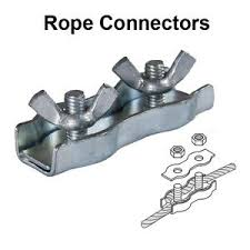 Electric Fencing Rope Connectors Pack Of 4 8712956002084 Ebay