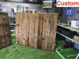 G G Custom Premium Closeboard Fence Panel The Beast Fence Panel Fully Framed