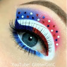 9 fourth of july makeup looks to