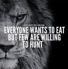 "Adam JOBS on Twitter: ""Everyone wants to eat but few are willing to hunt.… """