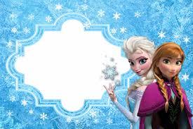 Invitaciones De Frozen Mas Manualidades