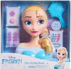 disney frozen elsa styling head 12900