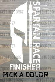Spartan Race Sticker Decal Die Cut Finisher Tactical Beast Super Sprint Xo 5 99 Picclick