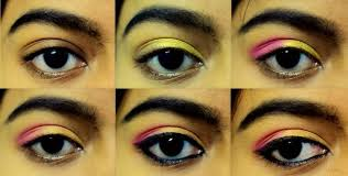 pink gold eye makeup in 5 minutes