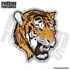 Tiger Decal Cat Bengal Siberian Car Truck Vinyl Sticker Rh V2 Rotten Remains High Quality Stickers Decals