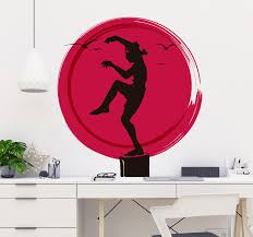 Karate Kid Logo Wall Sticker Tenstickers