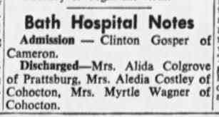 Linda Wagner Bath Hospital birth 1951 - Newspapers.com