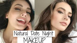 date night makeup natural smokey eye