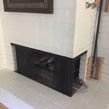 gas insert into multi sided masonry