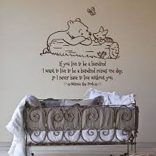 Classic Pooh Winnie The Pooh Nursery Bear Wall Decal Pooh