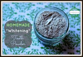 tooth powder recipe a natural homemade
