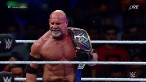 WWE Super ShowDown: Goldberg Vs.
