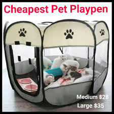 Pet Playpen Home Cat Kitten Foldable Portable Outdoor Indoor Kennel Tent Houses Cat Puppy Kitten Pet Cage Octagon Fence Not Cage Cat Tree 3 Tier Cage Treat Carrier Carrying Sandbox Litter Tray