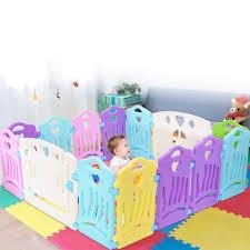 Baby Play Fence Children Activity Center Security Game Bed Home Indoor Outdoor Walmart Com Walmart Com