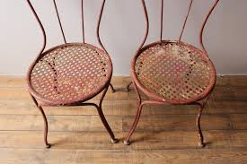 pair of french garden chairs aspire