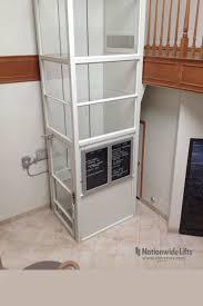 vertical wheelchair lift enclosed