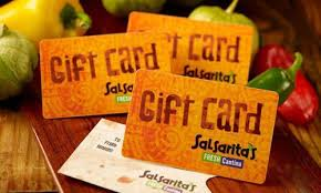 holidays with salsarita s gift cards