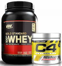 gold standard whey c4 stack