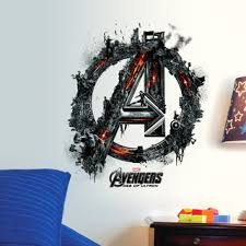 3d Marvel S The Avengers Wall Sticker Decals For Kids Room Home Decor Wallpaper Shopee Malaysia