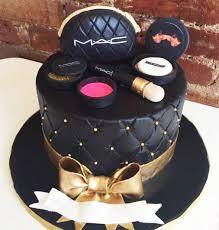 black theme mac makeup cake order now