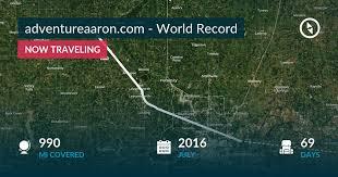 adventureaaron.com - World Record by Aaron Carotta - Polarsteps