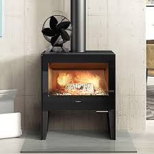 5 blade heat powered wood stove fan