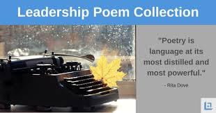 leadership poems powerful messages