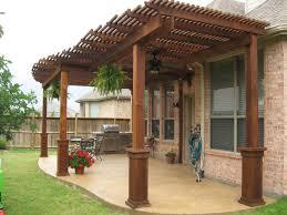 backyard patio covered astonishing