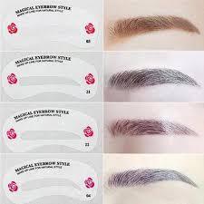 eyebrow shaping stencils makeup shaper
