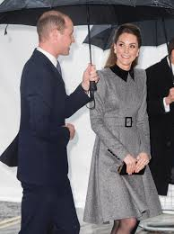 Kate Middleton Wears Catherine Walker Coat to Holocaust Memorial