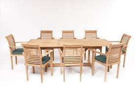 geneva teak garden furniture set