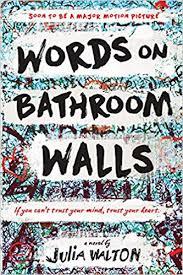 com words on bathroom walls