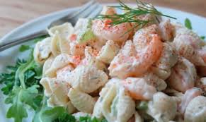 Shrimp and Pasta Shell Salad Recipe ...