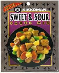 kikkoman 2 125 oz sweet sour sauce