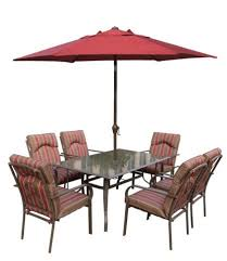 seater dining set with cushions