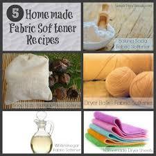 5 non toxic homemade fabric softener