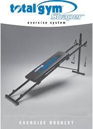 total gym 1000 1500 exercise manual