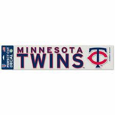 Minnesota Twins Mlb Decals For Sale Ebay