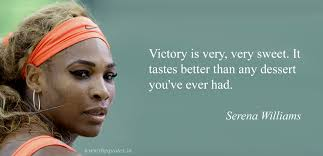 victory is very very sweet it tastes better than any dessert you