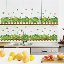 Country Style Garden Fence Flower Wall Stickers Living Room Bedroom Kitchen Decoration Decal Home Decor Poster Fence Components Fence Decorfencing Shoe Aliexpress